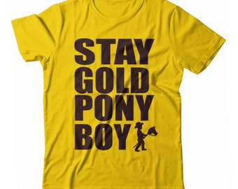 Stay Gold Pony Boy UNISEX T-shirt