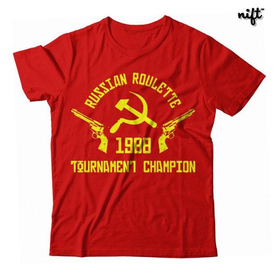 Russian Roulette Tournament Champion 1988 UNISEX T-shirt