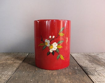 Vintage Japanese Tea Tin / Canister