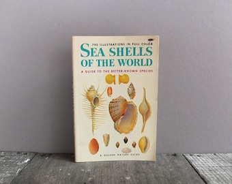 Vintage Sea Shells of the World Book / Golden Nature Guide Book