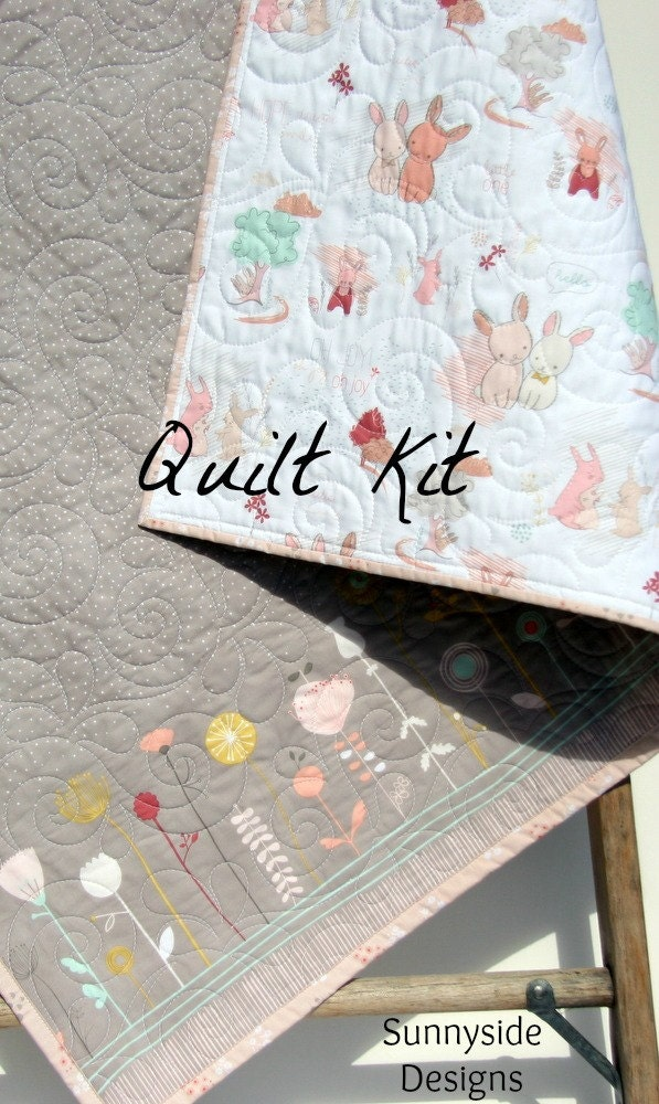 The Littlest Quilt Kit Wholecloth Cheater Panel Blanket