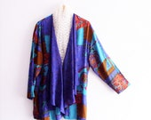 Reserved for AnnP ,   Boho 70's Style  Open Front Bolero