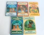 Hardy Boys Books Lot by Franklin W Dixon Wanderer Books 1979 1980 Paperback