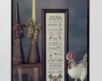 Cross Stitch Pattern SATURDAY'S SAMPLER By Lavender Wings