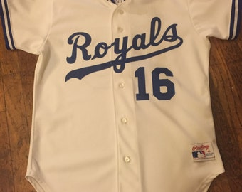 Vintage Rawlings Made in the USA Bo Jackson Kansas City Royals Jersey - Size 42