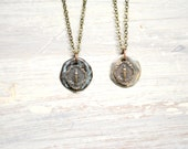 Miraculous Medal Necklace - Bronze - Made in the USA