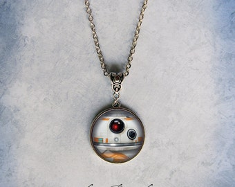 BB8 Inspired Necklace