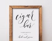 Cigar Bar Sign Printable Download
