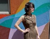 Vintage Brown Harrods Dress