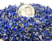 Supplies Beads Undrilled Stones 50 Pieces Blue Lapis Lazuli Gemstones Raw Rough Chips Semiprecious Stones Undrilled  5mm and smaller