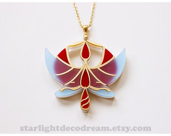 MADE to ORDER Princess Tutu Acrylic Necklace for Cosplay, Magical Girl Lovers, and Mahou Kei