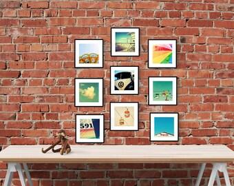 art print set // photography print set // wall art set // - Pick NINE, set of September Wren prints