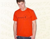 Pumpkin Pi T-Shirt - Orange