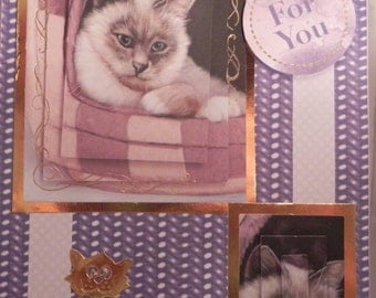 Persian Cat Any Occasion card