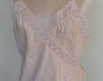 Vintage Camisole Satin Peach Christian Dior Cami