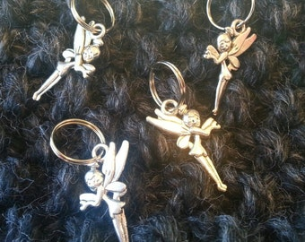 Knitting Stitch Markers - Tinterbell Fairy