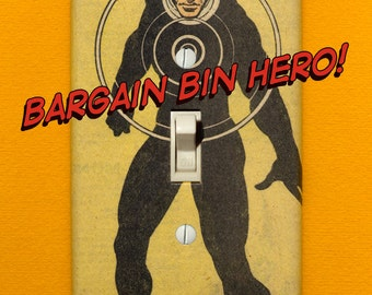 Havok - Superhero Light Switch Plate