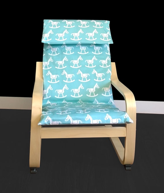 Rocking Horse Kids Ikea Poang Chair Cover, Ikea Poang Nursery Room ...