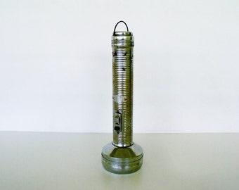 """10"""" Ranger Flashlight Working Vintage 3 Cell Large Metal"""