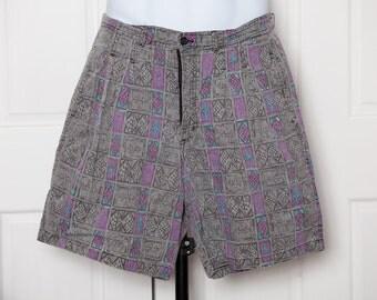 Rad Vintage 80s Shorts - LAGUNA - 32