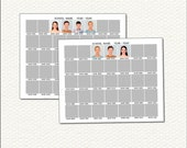 8x10 Class Composites for 36 and 35 - INSTANT DOWNLOAD - SCH4