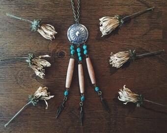 Southwest Dreamcatcher Necklace