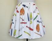 Art Supplies Skirt