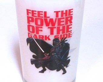 Star Wars Candle - Darth Vader Soy Candle 8 oz Glass