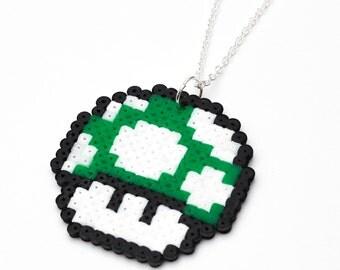 Super Mario 1UP Mushroom Necklace