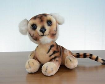 1960's Kamar Japan Tiger Plush