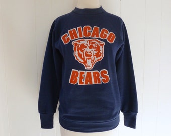80's Chicago Bears Sweatshirt Football Throwback S M