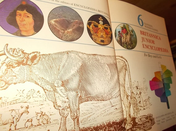 1955 world book encyclopedia set