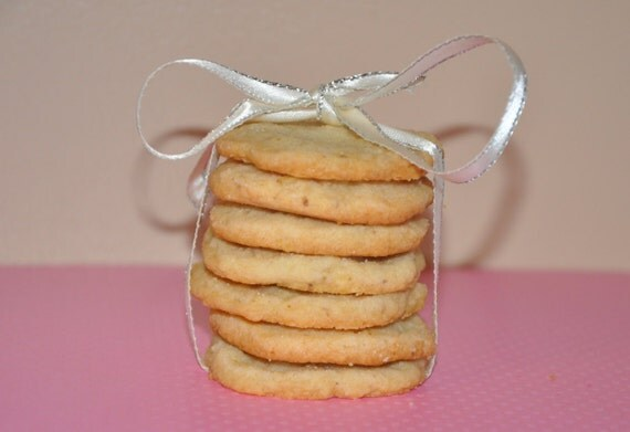 18 Shortbread Cookies Potato Chip Walnut Holiday Christmas Gift!