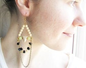 Boho Dangle Earrings. Geometric Earrings
