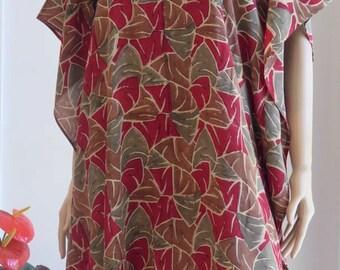 Silk Kaftan, Caftan, Cover up, Summer dress