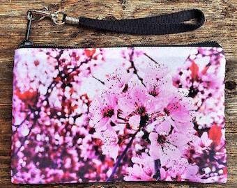 Cherry Blossom Clutch