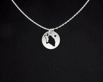 Barbuda Necklace - Barbuda Jewelry - Barbuda Gift