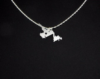 Newfoundland and Labrador Necklace - Canada Jewelry - Canada Gift