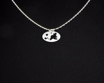 Saint Martin Necklace - Saint Martin Jewelry - Saint Martin Gift
