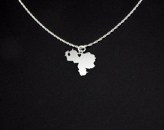 Venezuela Necklace - Venezuela Gift - Venezuela Jewelry