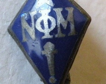 Nu Phi Mu Sorority Pin