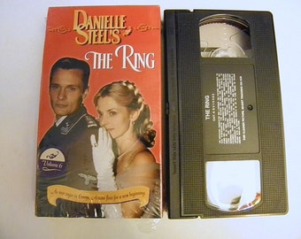 The Ring Danielle Steel VHS Video Tape Box Cover Pre-owned