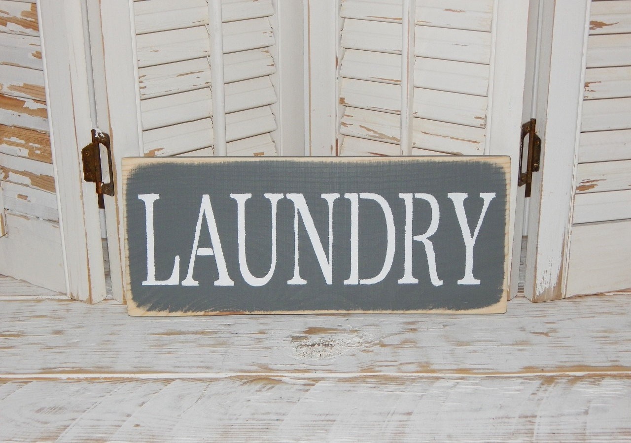 Laundry Sign Wall Decor Laundry Room Decor