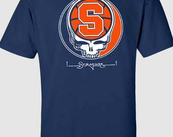 Syracuse Orange Grateful Dead Tee - All Sizes S-3XL