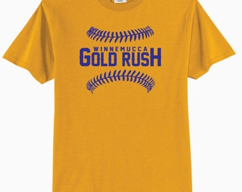 YOUTH - Winnemucca Gold Rush 50/50 Cotton/Poly T-Shirt