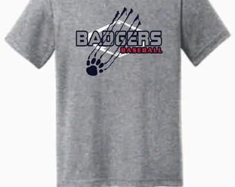 TODDLER - Badgers Baseball T-Shirt
