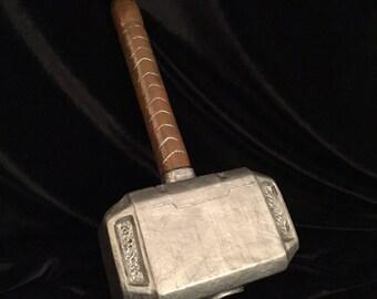 Thor's Hammer Mjolnir - Made to Order