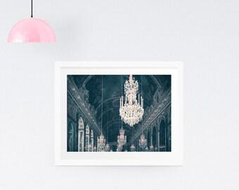 Paris Print - Chandelier print