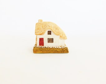 Lilliput Lane Cottage, Woodcutters,Retired 1983 Handmade, Signed, Collectors Cottage