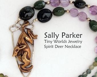 Spirit Deer Necklace